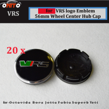 20Pcs 60mm  2.36inch Auto Wheel Logo Cover ABS Aluminum Car Wheel Emblem Cap For VRS wheel center caps