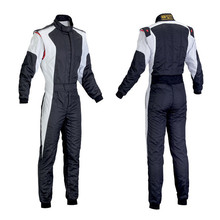 2016 New Fireproof Auto kart drift piece racing suit / racing coveralls white racing suit FIA 8856-2000