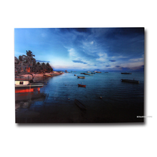 Malaysia Sabah Ocean view Infrared Radiant Panel Heaters Image Heat Frameless Temper Glass Heater Limit Copy(China)