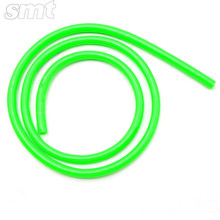 Green Universal Motorcycle Rubber Fuel Line Hose Tube oil pipeline for motorcycle motocross ATV pit dirt bike off road(China)