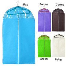 Large Small Size Zipper Closure Nonwoven Fabric Suit Coat Hood Suit Coat Dust Cover Bag Cover Hood IA840 P0.16