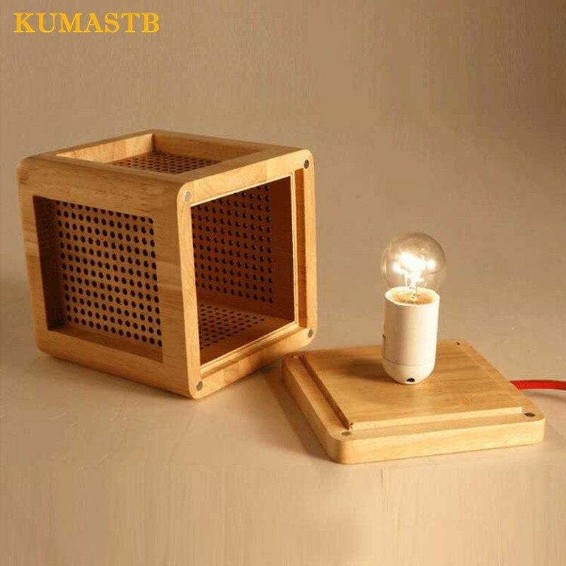 Wood Desk Lamp 5