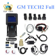 Without box GM TECH2 Full Set Support 6 Software(G M,OPEL,SAAB ISUZU,SU ZUKI,HOLDEN)G M Tech 2 Scanner+Candi TECH 2 promotional