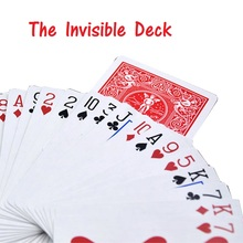 The Invisible Bicycle Deck Amazing Magic Cards Close Up Street Magic Tricks Stage Magic Props Mentalism Comedy Kid Puzzle Toys(China)