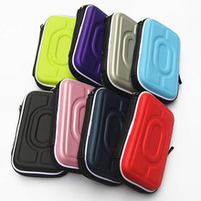 "Portable Hard Carry Case Cover Bag Zipper EVA Carrying Case Cover Pouch 2.5"" HDD External Hard Drive Protect Box"