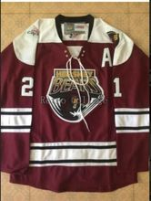 Hershey Bears #21 Graham Mink Worn Brett Clark Embroider Stitching Hockey jersey stitched Customized Any Name And Number Jersey(China)
