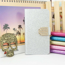Luxury Bling Glitter Flip PU Leather Cover Case For Apple Ipod Touch 4 4G Full Protector Original Stand Skin Cover