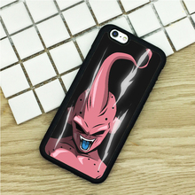 Soft TPU Phone Cases For iPhone 6 6S 7 Plus 5 5S 5C SE 4 4S ipod touch 4 5 6 Cover Shell Dragon Ball Z Villain Power Up Rage(China)