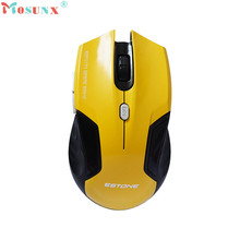 MOSUNX Futural Digital New  2.4 GHz Wireless Optical Mini PC Laptop Notebook gaming Mouse Mice   Drop Shipping F20
