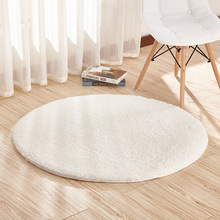 Hot Sale Beautiful Round Mat 40/60/80CM Alfombras Dormitorio Carpet Living Room Swivel Chair Mat New Tapis Chambre Free Shipping(China)
