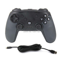 2017 Newest Arrival Turbo Function Bluetooth Controller for Nintend Switch Pro for PC XP System Video Game Play