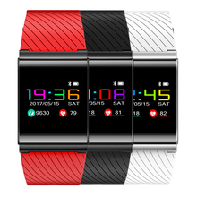 Long standby Smart Wristband Color Text OLED Screen Blood pressure heart rate monitor Bluetooth Sync Sport waterproof PK mi band(China)
