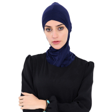 Babalet Womens' Modest Muslim Modal Full Cover Soft Comfortable Inner Hijab Caps Islamic Neck Cover Head Scarf Headwear Arab Cap(China)
