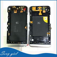 1Pcs Original New For BlackBerry Z30 4G 3G Middle Frame Housing Chassis With Power Button Flex Cable Assembly Replacement