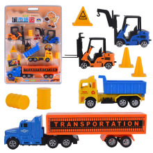 Plastic City Truck Set Inertia Toy Car Boy Birthday Gift
