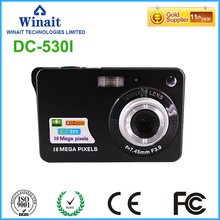 Max 18mp Digital Camera Mini Camera With 2.7'' TFT Display rechargeable lithium compact digital video camera 1280*720 HD DV