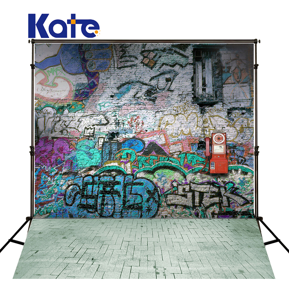 KATE Photography Backdrops Graffiti Backdrop Brick Photography Backdrop Children Photo Background Newborn Photocall for Studio<br>