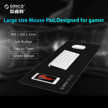 ORICO Natural Rubber Cloth Home Office Cloth Natural Rubber Game Mouse Pad Thick 3mm or 4mm Waterproof Anti-skid Durable and Big(China)