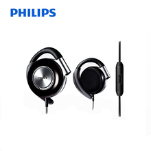 Philips SHS4705 Ear Hanging Type Music Headsets with  Wire Control Sports Headphones for Music and Phone Official Verification