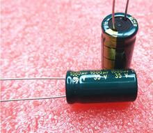 10pcs/lot 35V 1000UF 1000UF 35V 10*20 power supply special high-frequency crystal Electrolytic Capacitor