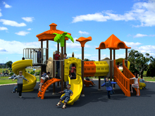 school amusement playground equipment park YLW-1749