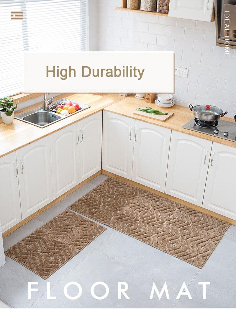 Zeegle Long Kitchen Carpet Floor Mat Living Room Hallway Area Rugs on ideal kitchen flooring, best flooring for kitchen, vinyl floor tiles kitchen,