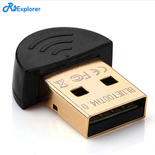 RSExplorer Wireless Bluetooth Adapter CSR 4.0 Bluetooth V4.0 Dual Mode Wireless Dongle  USB2.0/3.0 20m 3Mbps for PC Tables