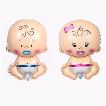 1Pc/New Lovely Angel Pacifier Baby Boy Girl Foil Balloons Baby Shower Decoration Helium Balloon birthday party kids Supplies hot
