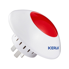 NEW 433mhz home Security Wireless outdoor siren External Flash strobe Light Sensor for Home Security Alarm System wireless siren(China)