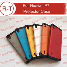 For Huawei Ascend P7 Case New Design TPU+PC Case Best Protector Back Cover With Different Colors For Huawei Ascend P7 Smartphone