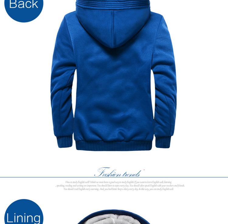 Hoodies Sweatshirt Men 17 New Autumn Winter Warm Thick Solid Casual Brand Tracksuit Men's Sweatshirts Hooded Plus Size 5XL 7