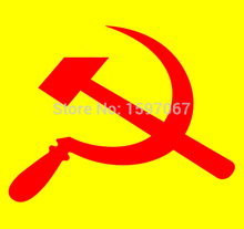Hammer Sickle Russia Soviet Union Graphic Sticker Car Window Truck SUV Door Kayak Art Vinyl Decal
