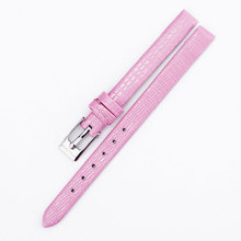 2017 titan Watch Band Genuine PU Leather straps 8mm watch accessories women High Quality red black pink Brown colors Watchbands