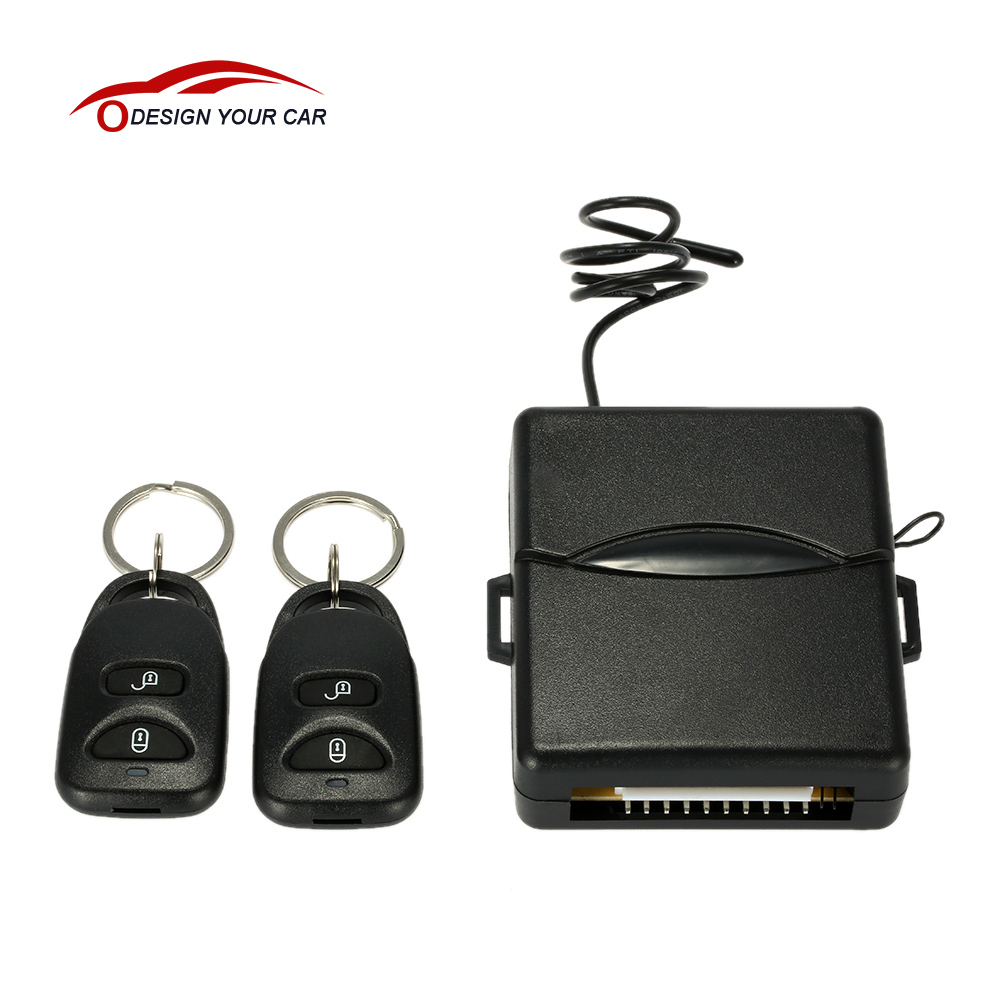 Universal Car alarm system key remote control Car Central Locking Keyless Entry smart remote car key system kit for Peugeot 307(China (Mainland))