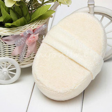 1 PCS Natural beauty Loofah Luffa Pad Body scrub Skin Exfoliation Scrubber Bath Shower Spa Sponge Skin Bath Accessories