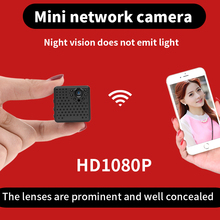 can be hided more easily 2017 August mini camcorder with prominent lens 1080P wireless wifi Camera security video recording(China)
