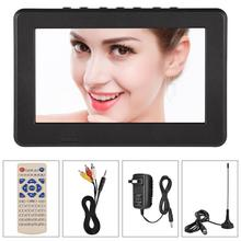 LEADSTAR Portable TV 7 Inch ATSC Digital Television 1080P HDMI TFT LED Video Player New(China)