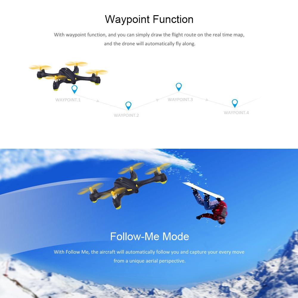 Hubsan X4 H507A Star Pro 720P Camera Drone Wifi FPV RC Quadcopter Follow Me Mode Way Point GPS One-Key Return RC Selfie Drone (8)