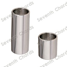 2 Pcs Stainless Steel Slide Tone Bar For Guitar / Wall thickness 2mm