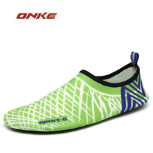 Men Women Swimming Shoes Beach Water Rubber High Elasticity Light Weight Shoes Soccer Water Sports Flat Sandal Breathable(China)