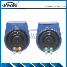 1 Pair Loud Horn Auto Speaker Alarm 12V Car Styling Parts Loudness 110db Tone Snail Horn Vehicle Car Horn