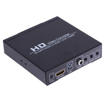 US Plug Scart/HDMI to HDMI 720P 1080P HD Video Converter Box for HDTV DVD STB HDMI monitor or projector