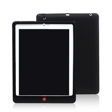 Silicon Back Cover For iPad 2 3 4 Para Capa Coque Case for iPad2 Case for iPad3 Case For iPad4+Stylus Pen(China)