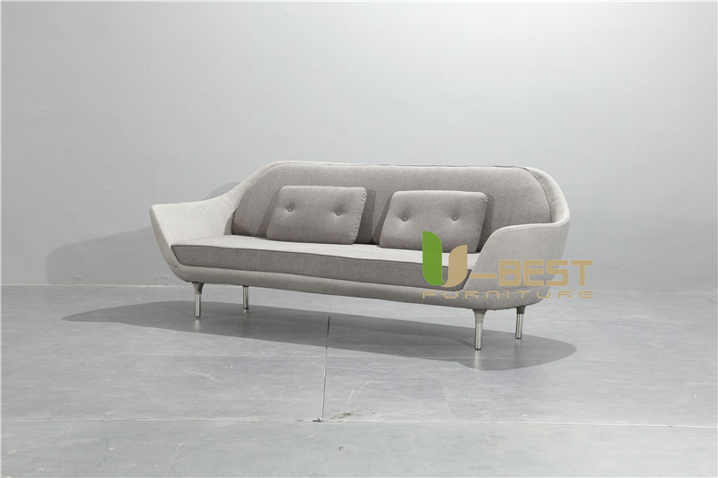 Nordic Simple Favn Sofa Coquille Sofa Multi Person Sofa 2