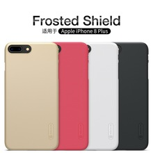 Buy Apple Iphone 8 Plus Iphone8 8plus Case Screen protector Nillkin frosted shield hard cases matte back cover phone shell for $7.19 in AliExpress store