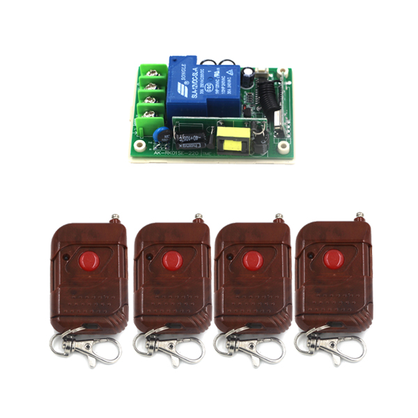 AC 85V-250V 30A 1CH RF 3000W Wireless Remote Control Switch and Controller System For Smart/Intelligent Home light/LED SKU: 5307<br>