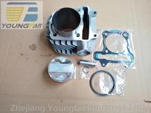 180cc 63mm big bore cylinder kit with 4V 4-Valve piston, rings and gaskets for Scooter ATV 152QMI 157QMJ GY6 125 GY6 150 GP110