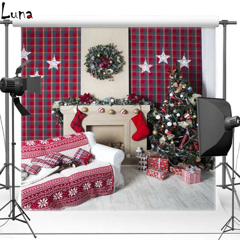 8x8ft Christmas Theme Vinyl Photography Background Sofa Backdrops for photo studio free shipping ST-312<br><br>Aliexpress
