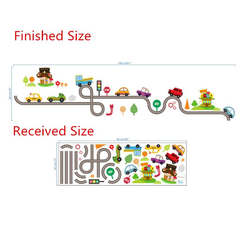 HTB1i8Uyl2NNTKJjSspcq6z4KVXa8 - highway cars wall stickers for kids rooms