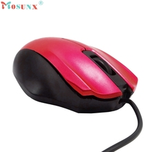Small USB 3 Button Optical Scroll Wired Mouse Mice For PC Laptop Desktop_kxl0224 computer accessories